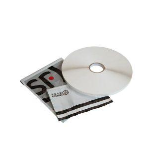 Fita adesiva de selagem para malas de correio