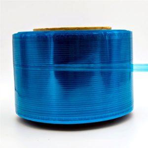 Fita de selagem de saco de correio de filme azul