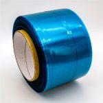 Fita de vedação de saco permanente de filme azul / vermelho