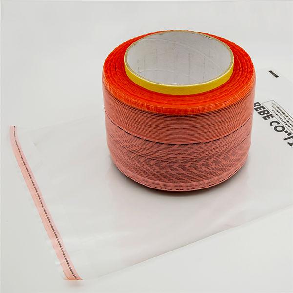 Fita de selagem de saco de filme vermelho antiestático