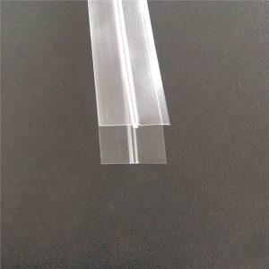 Zíper saco de plástico transparente